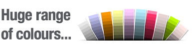 ThermoGlaze colours